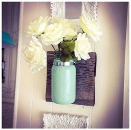 Mason Jar Wall Hanger