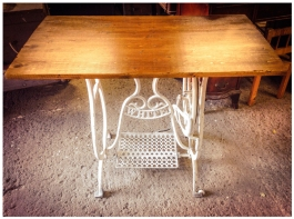 Converted Treadle Table