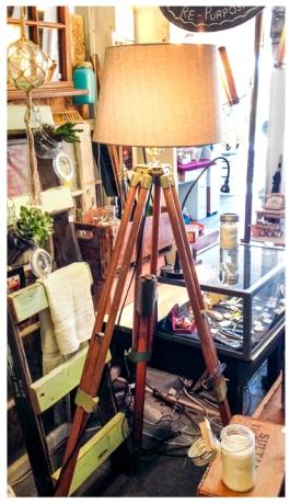 Surveyor Tripod Lamp