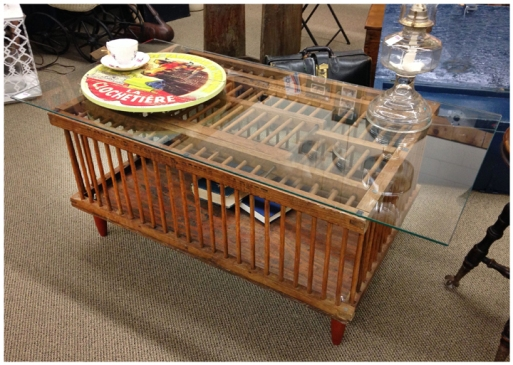 Chicken Coop Coffee Table