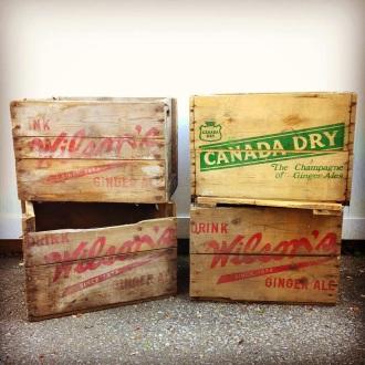 Wood Soda Crates