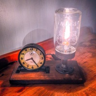 Original Clock Lamp Combo
