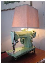 Singer Sewing Lamp