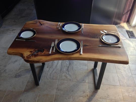 Spalted Black Walnut Table