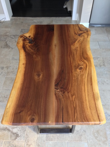 Spalted Black Walnut Table